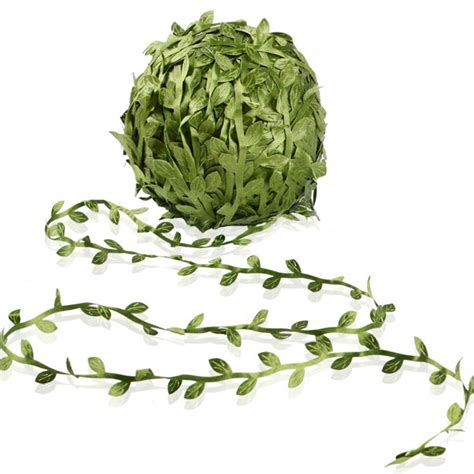 Artificial Vine Fake Leaves 265 Feet Artificial Leaf .