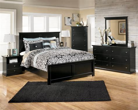 Ashley Black Bedroom Furniture