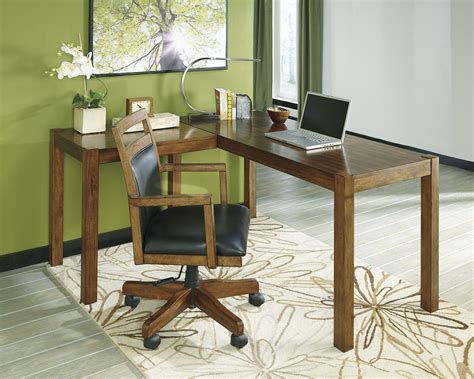 Ashley Furniture L-Desk White From Houzz  People.