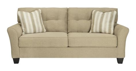 Ashley Furniture Laryn Khaki Sofa  The Classy Home.