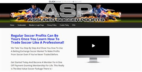 [click]assured Soccer Profits Review - Extra Income Guru.