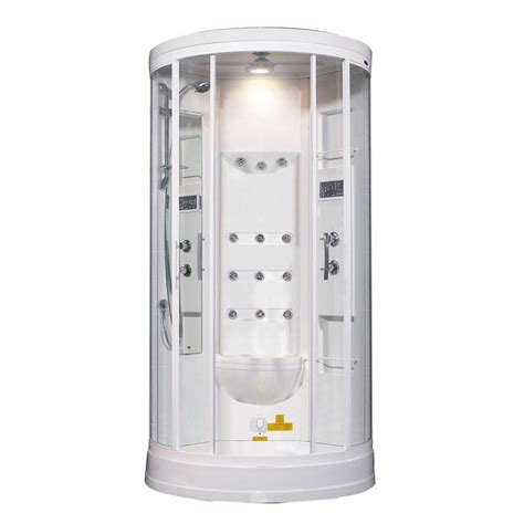 Aston Za218 40  X 40  X 88  Ssteam Shower Enclosure .