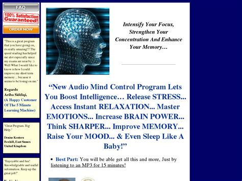 [click]audiomindcontrol Org Audio Mind Control Take Control Of .