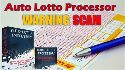 Auto Lotto Processor Review - Does It Work Or Scam? - Youtube.