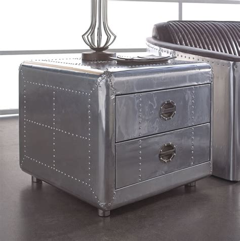 Aviator Aluminum Side Table