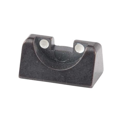 Beretta Usa Rear Sight C90 3dot White  Brownells.