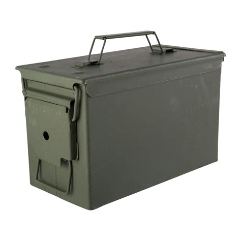 Brownells 50 Caliber Ammo Can Steel Green  Brownells.