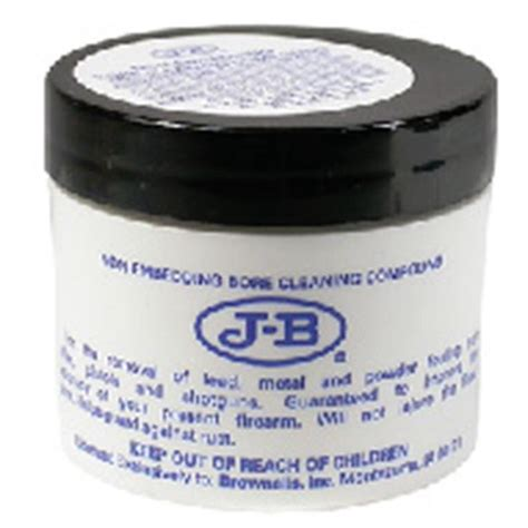 Brownells J-B Non-Embedding Bore Cleaning Compound .