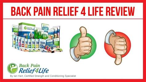 [click]back Pain Relief 4 Life Review What You Need To Know .