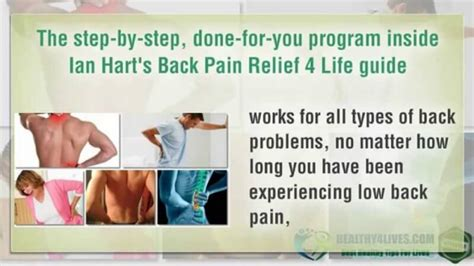Back Pain Relief 4 Life Review: Is This A Filthy Scam?.
