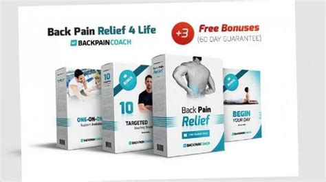 Back Pain Relief 4 Life Review: What You Need To Know - Health.