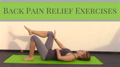 Back Pain Relief For Life.
