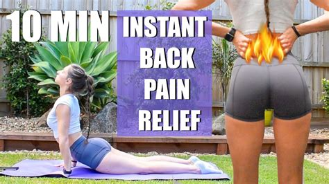 Back Pain Stretches For Instant Relief - Back Pain Relief 4life.