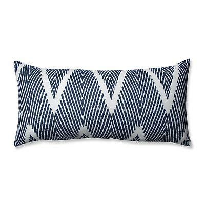 Bali Navy Bolster Throw Pillow - Pillowperfect Com.
