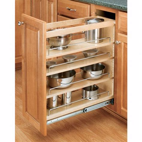 Base Cabinet Pullout Organizers Rev-A-Shelf 448 Series .
