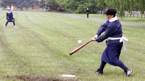 @ Baseball In Skirts 19th-Century Style  Npr History Dept .