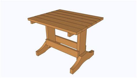 Basic Small Table Plans
