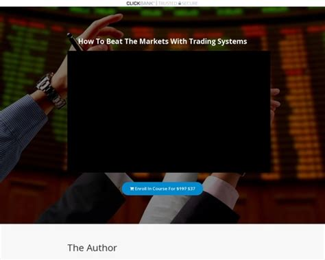 [click]beat The Markets With Trading Systems  Skilled Academy.