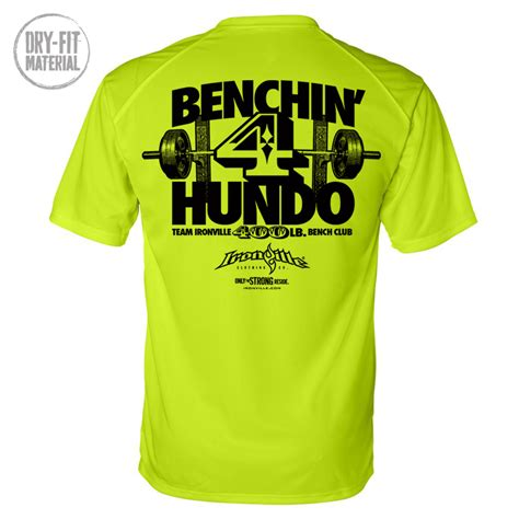 Bench Shirt Design