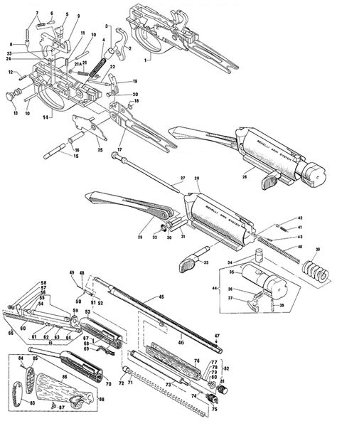 Benelli M2 Parts Schematic - Wordpress Com.