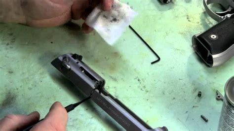 Beretta 92 Extractor Maintenance.