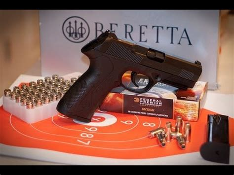 Beretta Px4 Storm Dao Trigger Teardown Reassembly And Shooting.