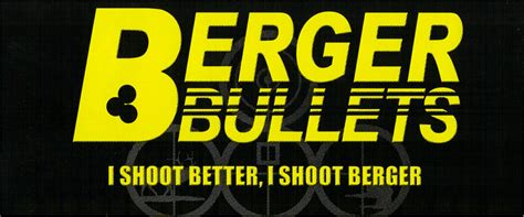 Berger Bullets Announces Launch Of A New Ammo Company .