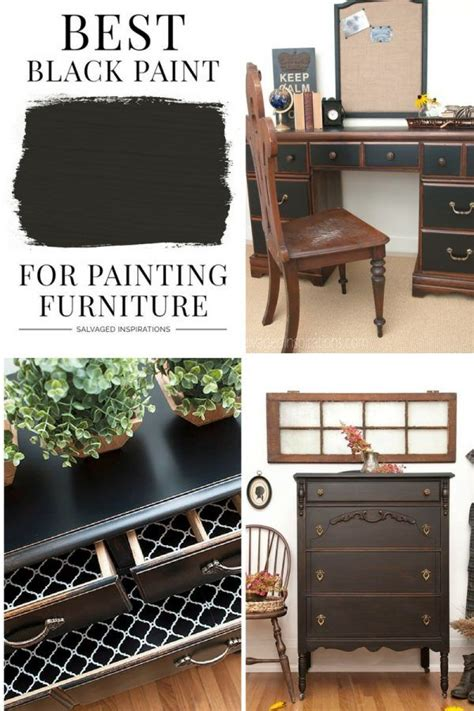 Best Black Paint For Wood Furniture
