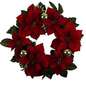 Best Christmas Poinsettia Wreath Products On Wanelo.