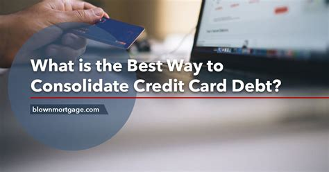 Best Credit Card Consolidation Services