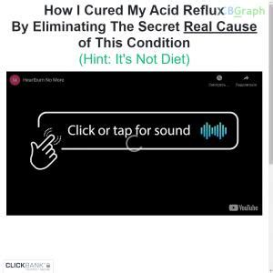 @ Best Quality Heartburn No More Tm  Top Acid Reflux .