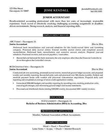 example of resume with seminars attended sales and service