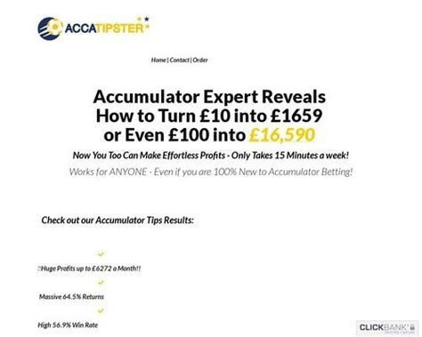 Best [click]new Accatipster This Year S Hottest Accumulator Offer ∴.