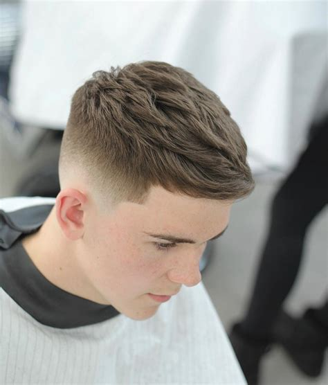 Galerry hairstyle mens fade