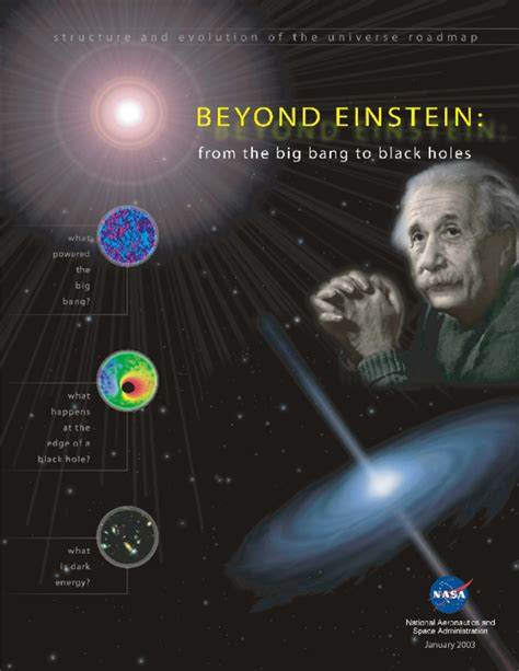 [pdf] Beyond Einstein From The Big Bang To Black Holes.