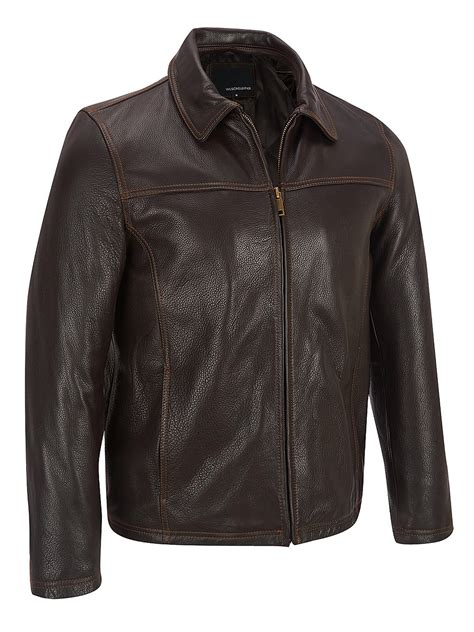 Big Men's Leather Jackets