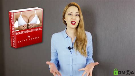 @ Bigger Breast Formula By Sahar Perske   Don T Buy It Until You Watch This .