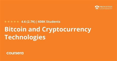 [click]bitcoin And Cryptocurrency Technologies  Coursera.