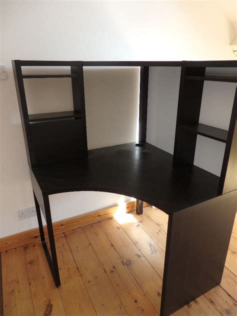 Black Corner Desk Ikea