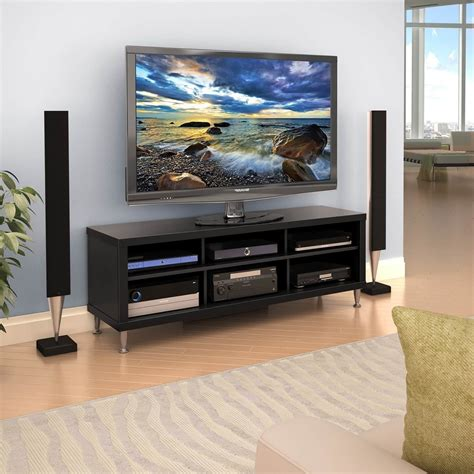 Black TV Stands 55 Inch