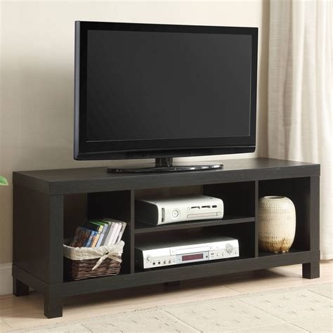 Black TV Stands For 55 Inch Flat Screen TV