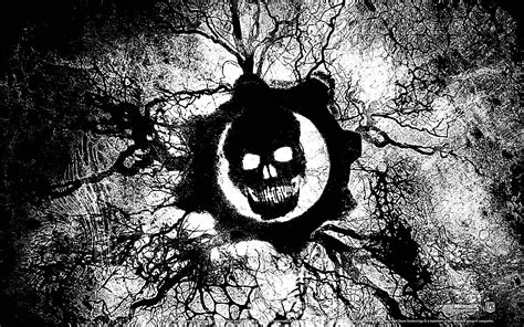 Black and White Gears of War