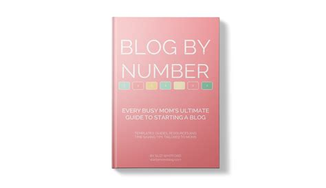 Blog By Number From Startamomblog.