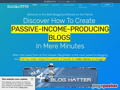 Bloghatter V4 - Automate Your Blogging Process - 99kym.com.