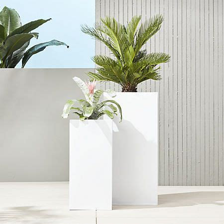 Blox Galvanized Charcoal Planters In 2019  Pinewood .