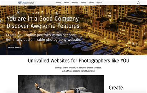Bluemelon Photo Hosting: Upload, Share Or Sell Photos Online.