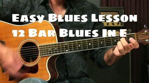 [click]blues For Beginners - Guitar Lesson - Tabs4acoustic.