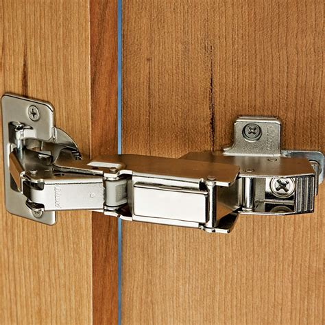 Blum  170  Snap Close Clip Top Frameless Inset Hinge .