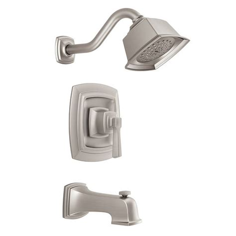 Boardwalk Spot Resist Brushed Nickel Posi-Temp - Moen.