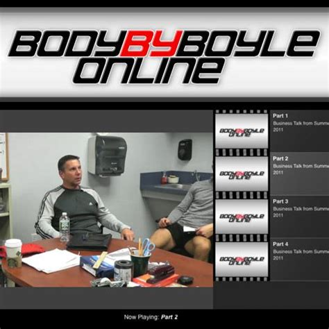 Body By Boyle - Clickbank.
